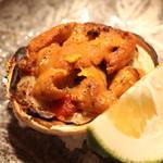 麻布 かどわき - せいこ蟹と雲丹 (2013/11)