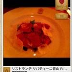 リストランテ・サバティーニ - お肉の臭みが全くない美味しすぎるタリアータ