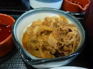 なか卯 - ミニ牛小鉢