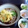 そば処 ひのき - 料理写真:天ぷらそば900円