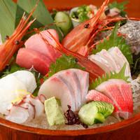 本格和食と鮮魚に自信あり!です。
