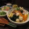 庵 - 料理写真:海鮮しおちゃんこ鍋コース