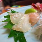 浜昇 - ひらめ刺(昆布〆)