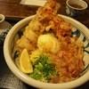 饂飩工房 うばら - 料理写真:ちく玉天ぶっかけ + とり天ぷら