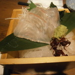 しもたや - 真鯛の刺身¥294