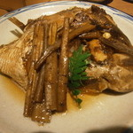 しもたや - 真鯛のアラ煮