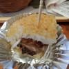 モスバーガー - 料理写真:試食のサバ味噌バーガー