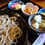 さこちゃん - 料理写真:もりそば(¥700)十割手打ち蕎麦(猪苗代産)
