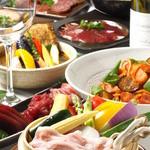 ヴァカンス - ディナータイムはお酒に合わせたお料理を御提供致しております。