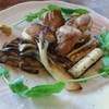 臺眠 - 料理写真:地鶏の酒焼き