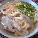 菜の家 - ごぼううどん350円