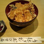ゑびす屋 - ゑびす丼(鰻の天丼)¥1575