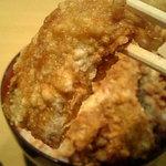 ゑびす屋 - 大きい鰻天ぷら