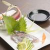 海王 - 料理写真:アジのお造り