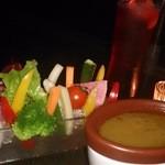 ミツバチ - シャキシャキ野菜のバーナカウダ880円