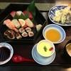 むさし家 - 料理写真:寿司定食(天ぷら付)