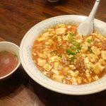 新華苑 - 料理写真:麻婆丼750円
