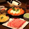 三田ばさら - 料理写真:日本料理三田ばさら名物「トマトすき焼き」