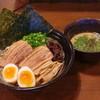 雷伝 - 料理写真:新特製つけ麺です!肉厚炙りチャーシューが食欲をそそります!