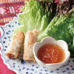 ニャーヴェトナム - 蟹肉入りのひとくち揚げ春巻き