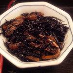 楓 - 小鉢ひじきの煮付