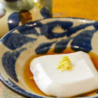 自家製じーまーみ豆腐☆