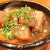 韓味一 - 料理写真:大根とカルビをじっくり煮込んだカルビチム!