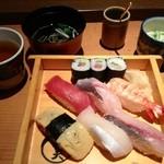 空 ここちよい風 - 寿司ランチ750円