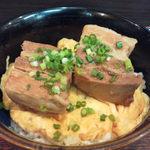 芭蕉庵 - ラフティ丼