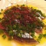 マックス - 秋刀魚のお刺身マリネ