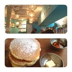 Micasadeco&Cafe - 仕事の合間にティーTime! ここは、パンケーキがオススメらしい(^-^)/