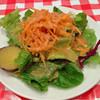 ナスコンディーノ - 料理写真:ランチのサラダ