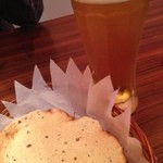 MILAN - 生ビールとパパドゥ
