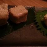 やきとり 宮川 - クリームチーズの味噌漬け 2013.12
