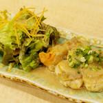 築地ビッグ寿司 - ホタテのバター焼き