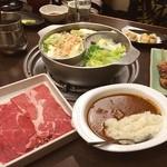 和食さと - 料理写真:さとしゃぶプレミアムは子連れにはお得(*-∀-)ゞ