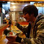 ゆき坊 - セット豚骨醤油(大盛) 1200円