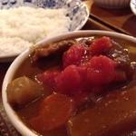 茶豆 - 牛スジカレー