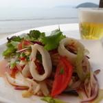 ドゥワンチャン - 旬のヤリイカを使ったサラダ