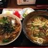 居酒屋喜多呂 - 料理写真:玉子丼とカレーうどんにサラダ付!