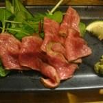 虎食堂 - 自家製ローストビーフ 480円
