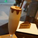 リンツ ショコラ カフェ - チョコレートドリンク(ミルク)