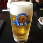羽根屋 - 生ビール