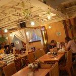 アムリタ食堂 - アムリタ食堂店内