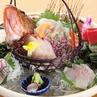 地もの鮮魚大漁盛り 7~8種