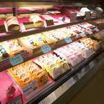 榮太楼 - なまどら焼は、あずき・ごま・栗・ラムレーズン・チョコの5種類