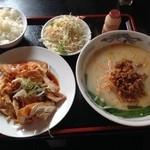 珍味源 - 料理写真:油淋鶏定食 650円