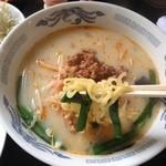 珍味源 - 料理写真:定食の台湾豚骨ラーメン