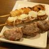 炭火焼鶏 串之介 - 料理写真:はつ(100円)、せせり(150円)、ぼんじり(150円)