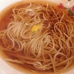 23023168 - 温 :  天ぷら蕎麦の蕎麦